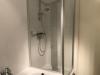 Nieuwe douche in badkamer huisje ameland vakantie