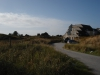 Zijaanzicht huisje ameland vakantie